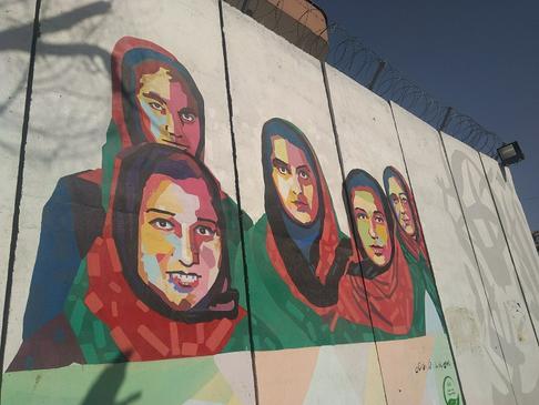 Уличная живопись, которой больше нет